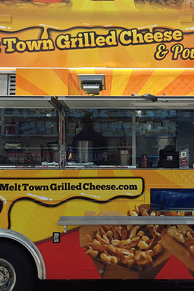 Grilled Cheese and Poutine Truck